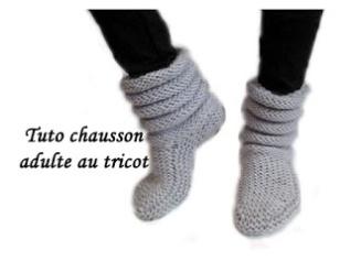 miniature-tuto-chausson-adulte-au-tricot
